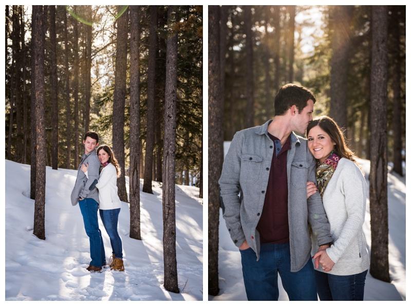Banff Engagement Photography Session