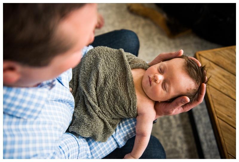 Bridgeland In Home Newborn Session Calgary