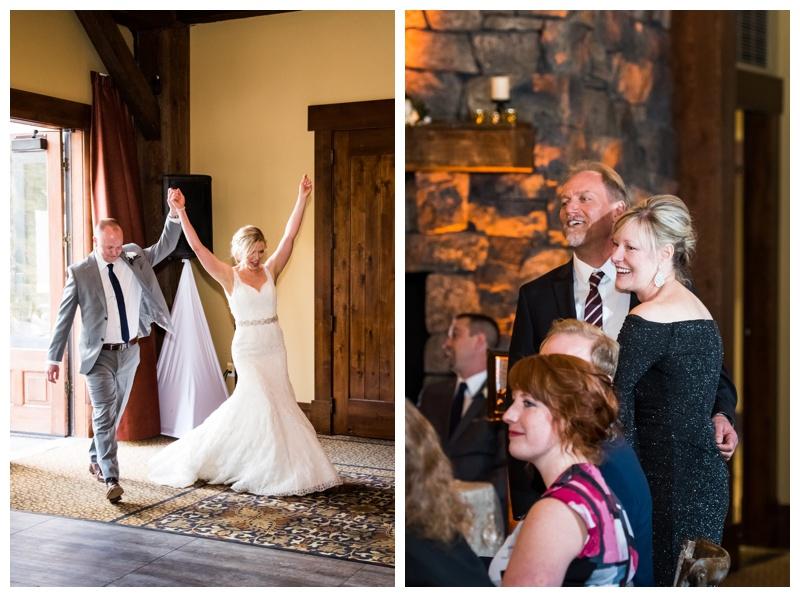 Canmore Silvertip Golf Course Wedding Reception
