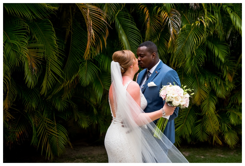First Look Photography -Now Larimar Destination Wedding