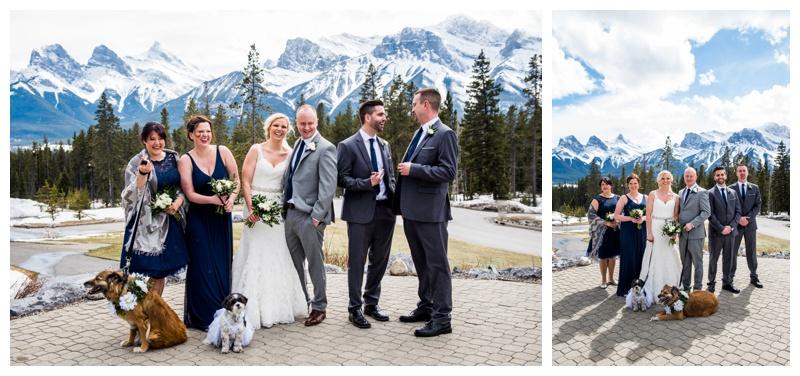 SIlvertip Wedding - Canmore Alberta