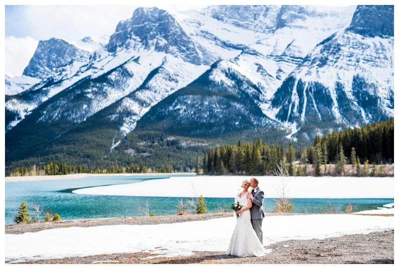 Spring Wedding Canmore Alberta