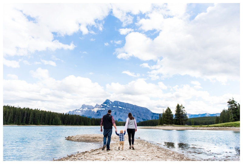 Two Jack Lake Family Session