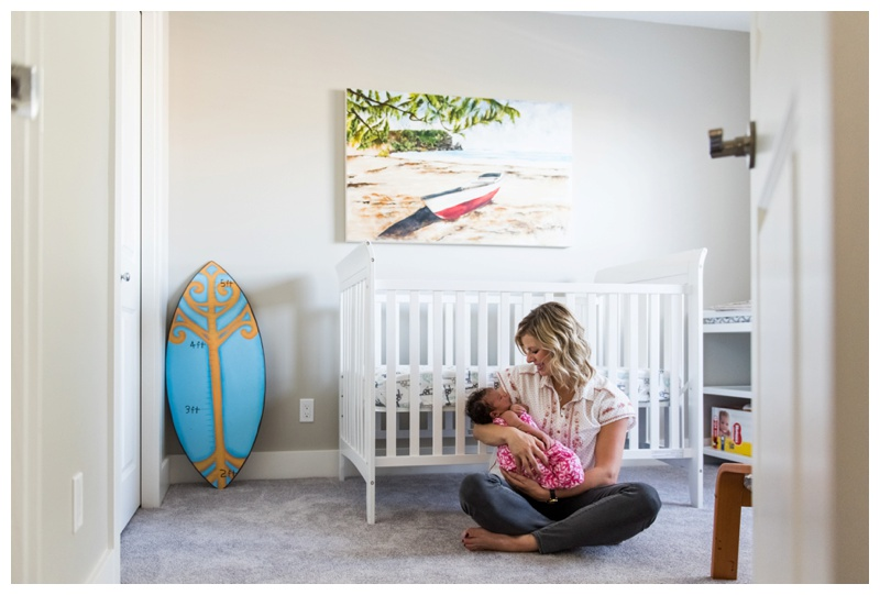 At Home Lifestyle Newborn Photographer Calgary