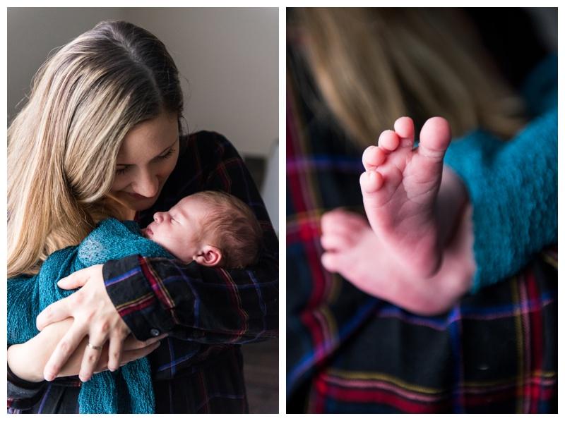Cochrane At Home Lifestyle Newborn Session