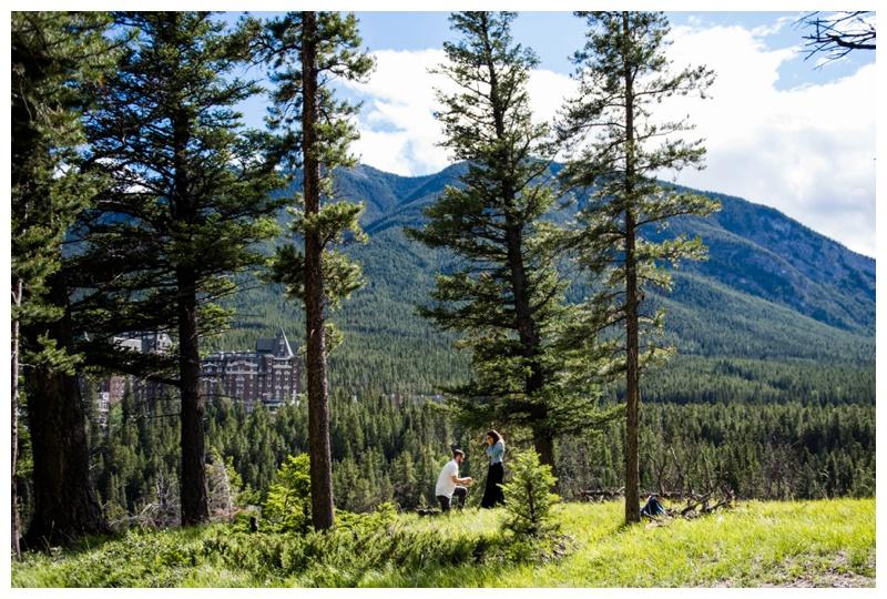 Banff Proposal - Banff Photographer