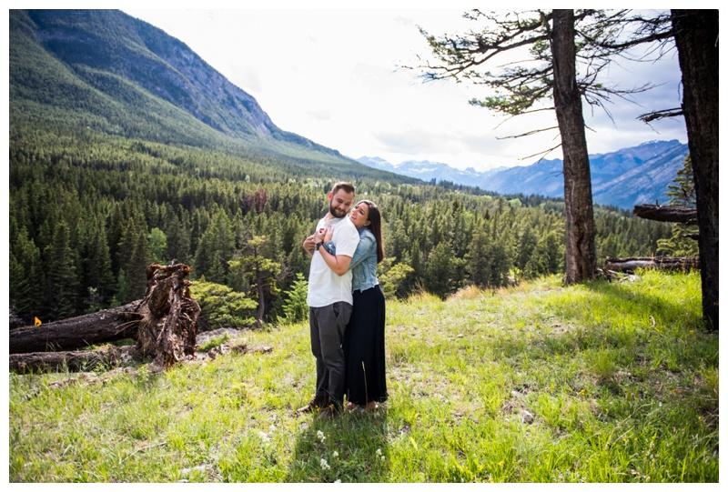 Banff Proposal Photos - Banff Wedding Photographer