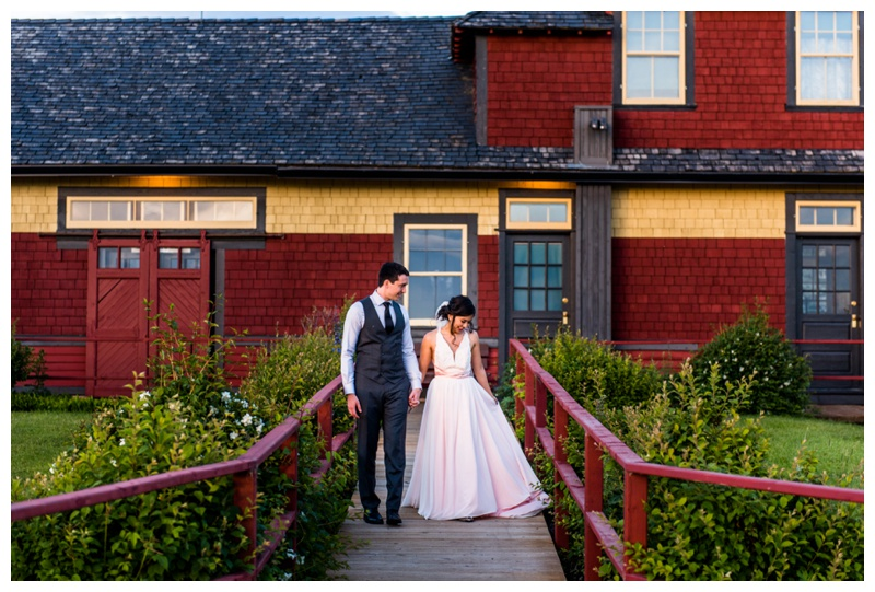 Calgary Heitage Park Wedding
