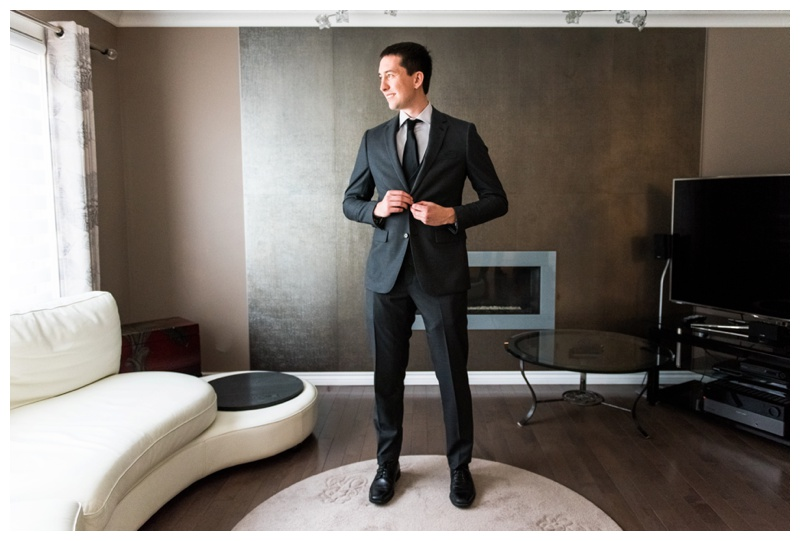 Groom Getting Ready Images- Calgary wedding Photographer
