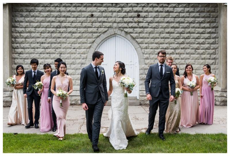 Wedding Party Photos Calgary - Reader Rock Garden