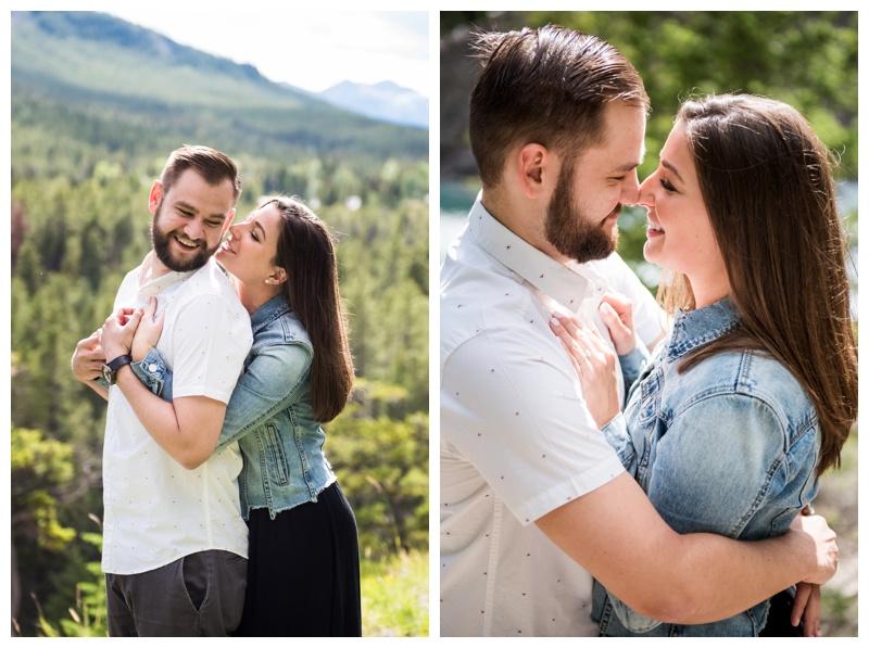 Wedding Proposal Banff Alberta