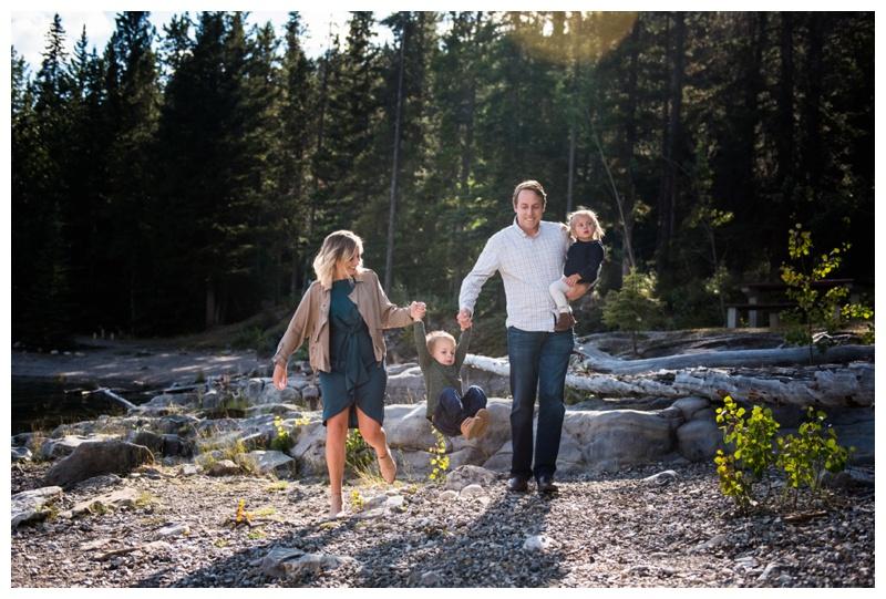 Banff Family Photography - Lake Minniwanka
