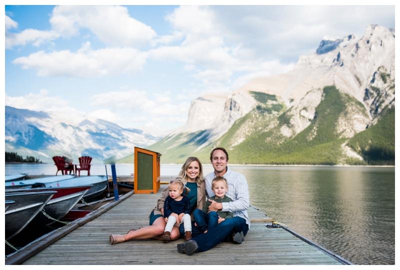 Lake Minniwanka Family Photography