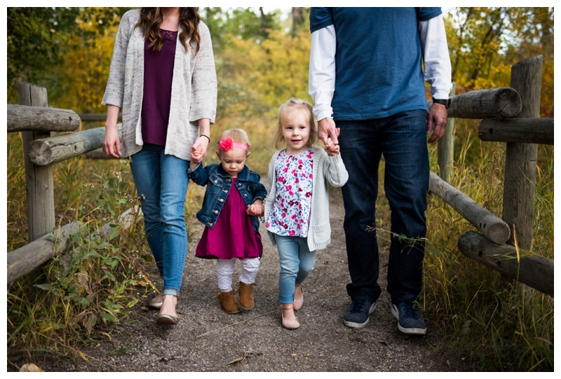 Calgary Pearce Estate Park Family Photography