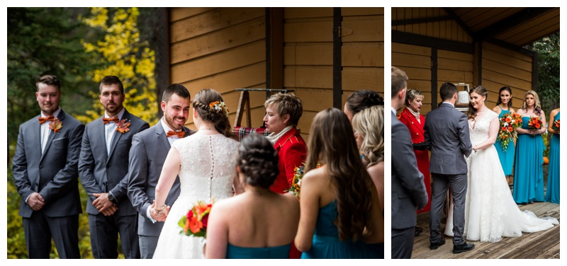 Canmore Wedding Ceremony Photography - Bow Valley Campground