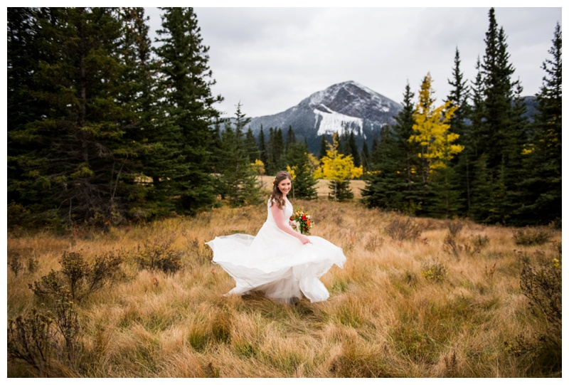 Fall Mountain Wedding Cannmore - Brdal Portraits