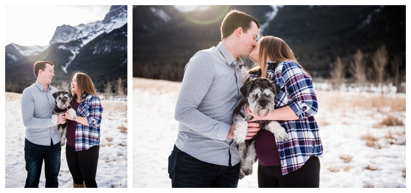 Engagement Photos Canmore Alberta
