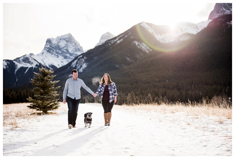 Rocky Mountain Engagement Photographer Canmore