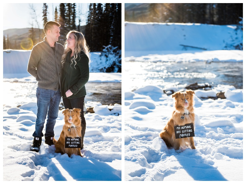 Calgary Winter Engagement Photos