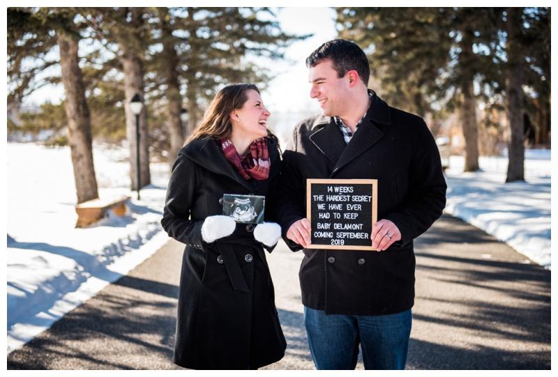 Baby Announcement Photographer Calgary