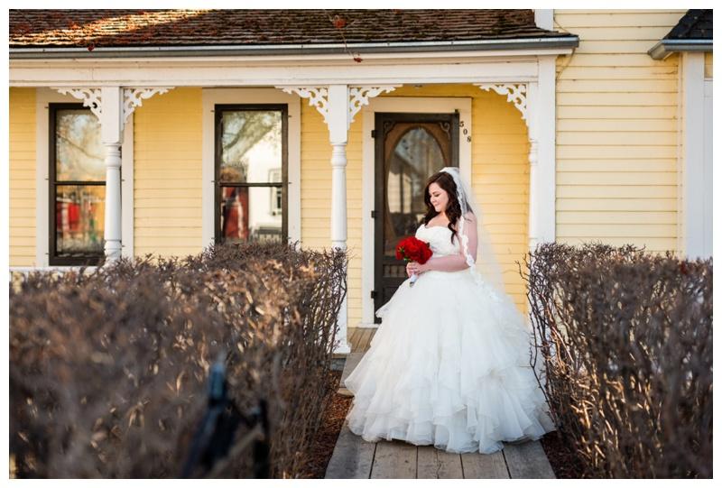 Calgary Heritage Park Wedding Photos