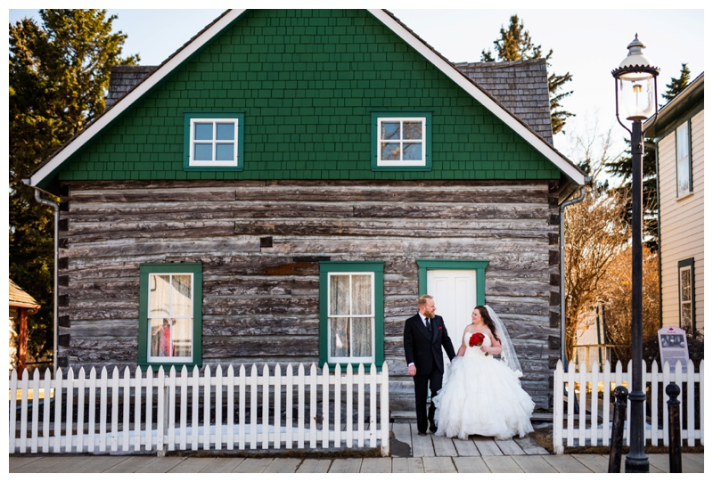 Calgary Teatro Restaurant Wedding Photos