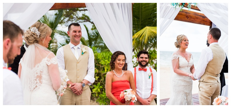 Sunset Beach Wedding Iberostar Jamaica - Calgary Wedding Photographer