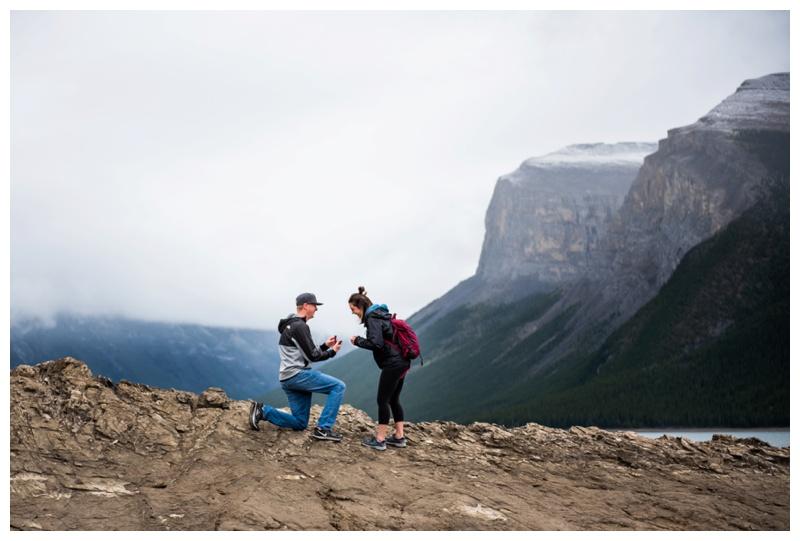 Lake Minniwanka Banff Proposal Photos