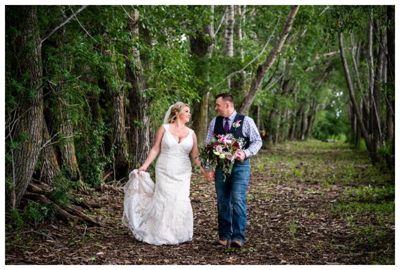 Alberta Barn Wedding Ceremony- Willow Lane Barn Olds Alberta