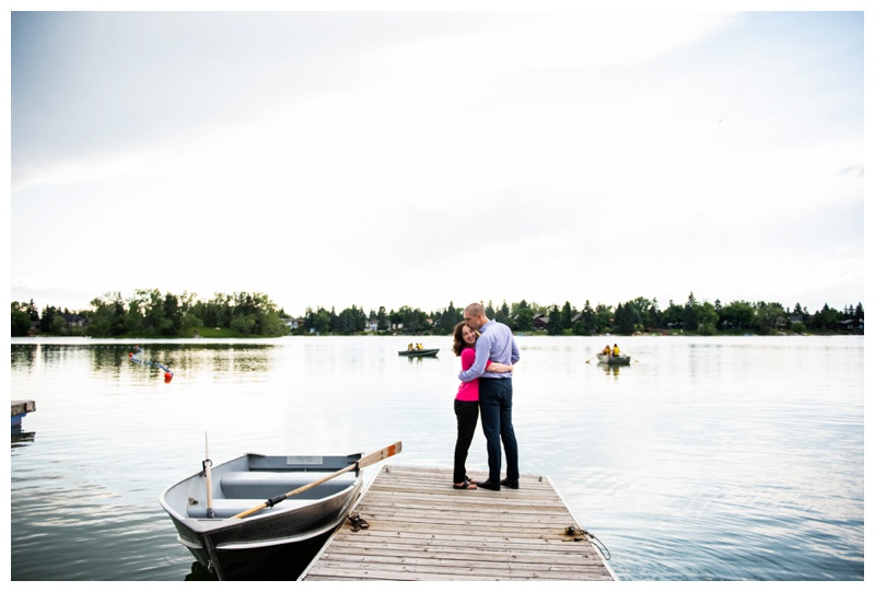 Calgary Lake Bonnavista Anniversary Photography Session