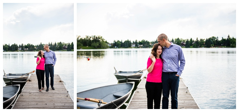 Calgary Lake Bonnavista Couple Photography