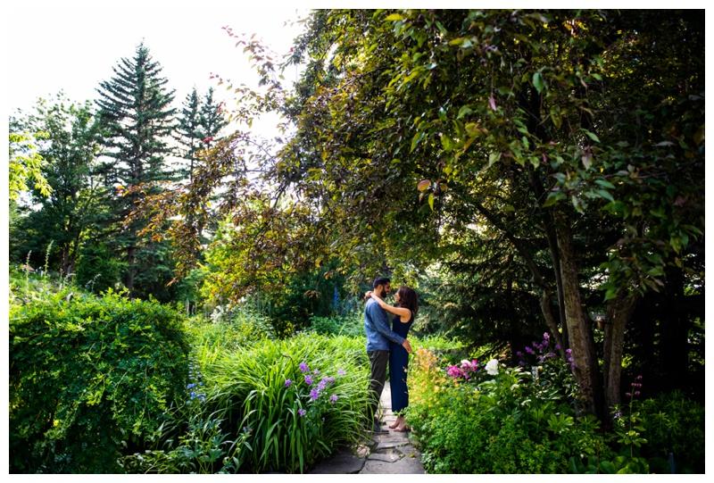 Calgary Reader Rock Garden Engagement Session