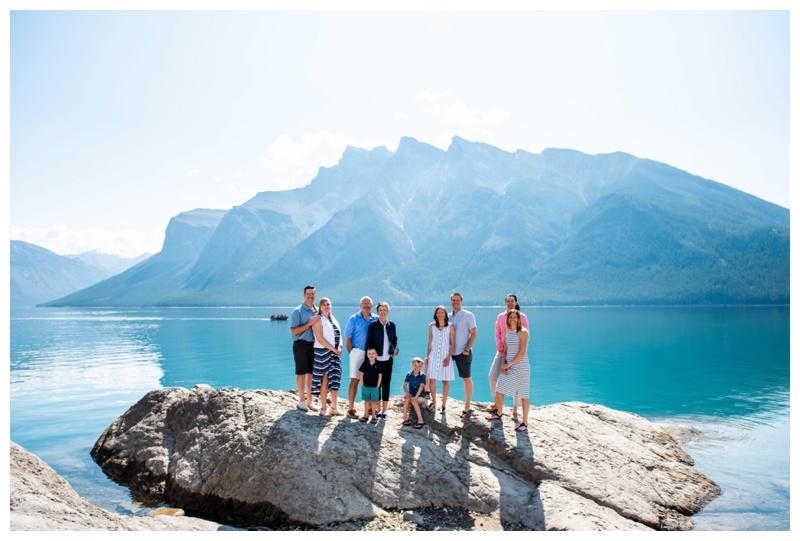 Lake Minniwanka Banff Family Photographers