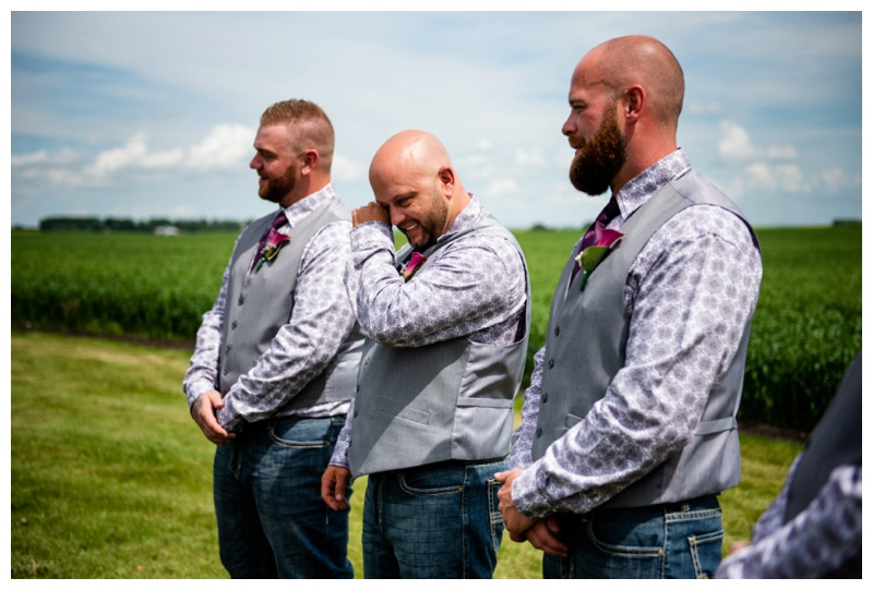 Olds Willow Lane Barn Wedding Ceremony