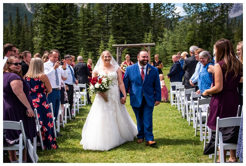 Canmore Ranch Wedding Ceremony Photographers - Canmore Alberta