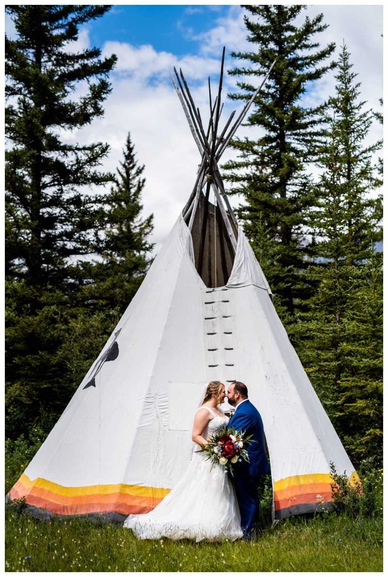 Canmore Wedding Photo - Canmore Ranch
