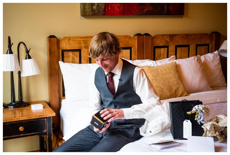 Groom Prep Photos-Island Lake Lodge Wedding