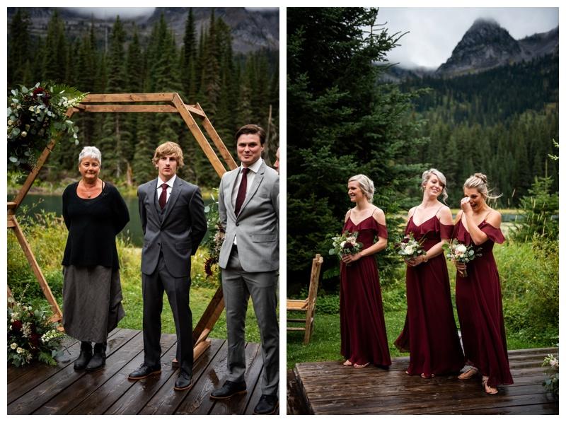 Island Lake Lodge Wedding Ceremony Photographer
