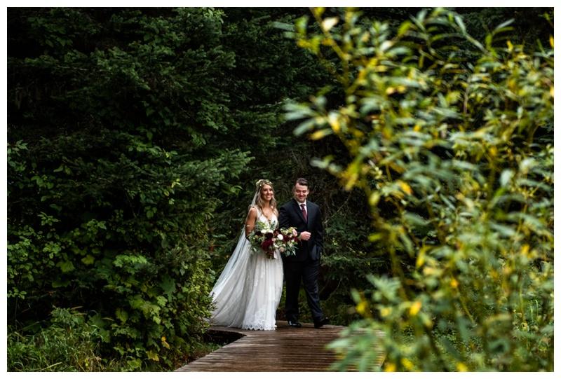 Island Lake Lodge Wedding Ceremony Photographers