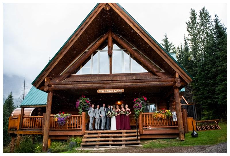 Island Lake Lodge Wedding Fernie - Wedding Party