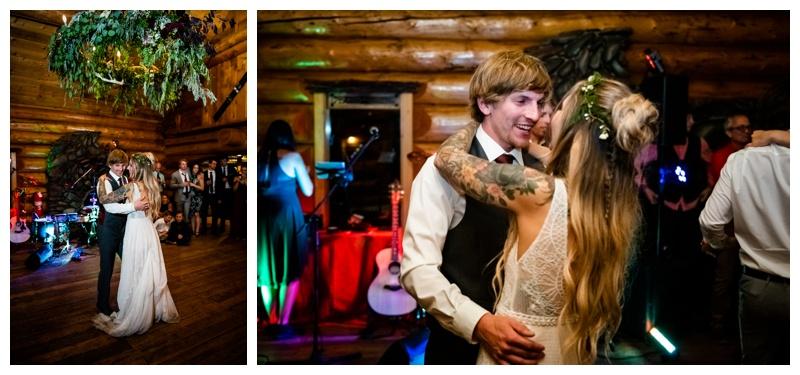 Island Lake Lodge Wedding Reception Fernie