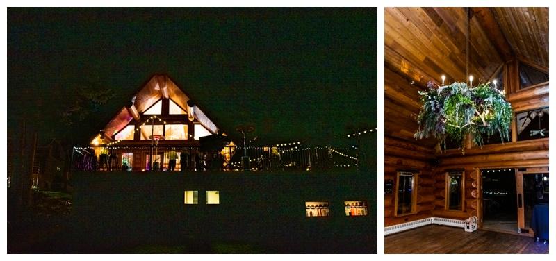Island Lake Lodge Wedding Reception
