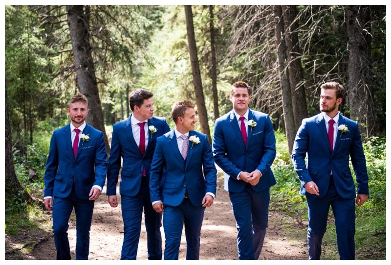 Wedding Party Photo - Calgary Wedding Photographers