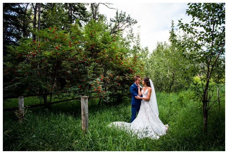 Wedding Photography Calgary Alberta - Dewinton Wedding