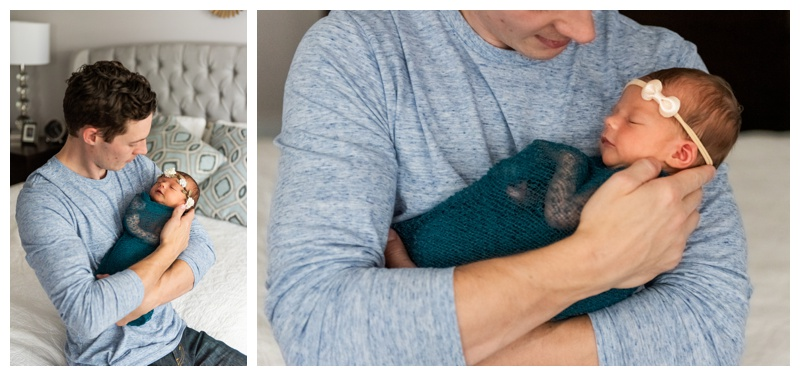 At Home Lifestyle Newborn Photography Calgary