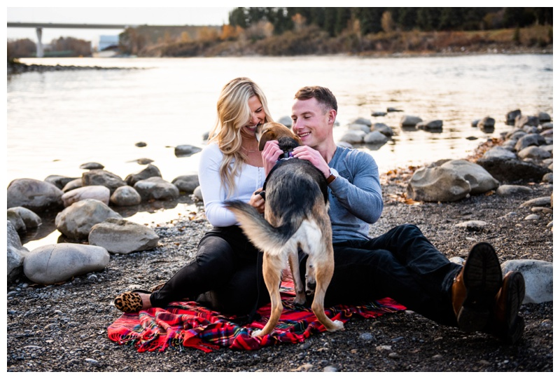 Bowness Park Engagement Photos Calgary