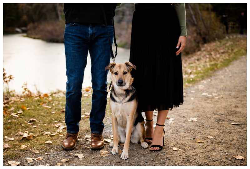 Calgary Alberta Bowness Park Engagement Photography