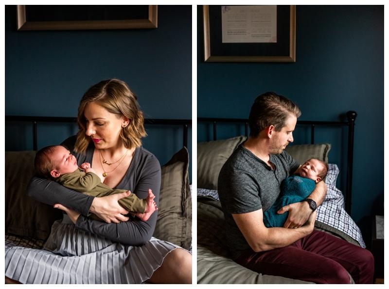 Calgary At Home Newborn Photos