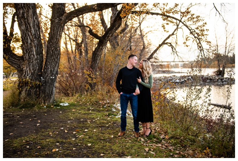 Calgary Bowness Park Engagement Photos