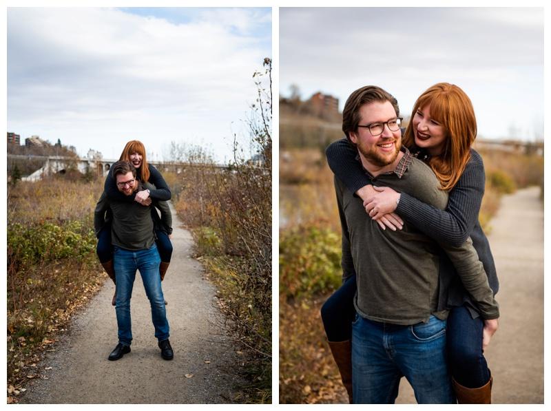 Calgary Prince's Island Park Engagement Photographers